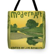 Modern Art 1895 Tote Bag