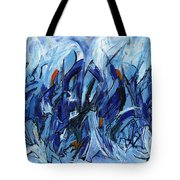 Modern Art Eleven Tote Bag