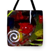 Modern Cave Art Tote Bag