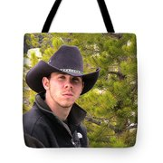 Modern Day Cowboy Tote Bag