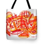 Modern Drawing Eighty-six Tote Bag
