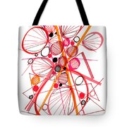 Modern Drawing Fifty-four Tote Bag