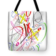 Modern Drawing Fifty-three Tote Bag