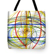 Modern Drawing Fourteen Tote Bag