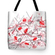 Modern Drawing Ninety-five Tote Bag