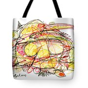 Modern Drawing Seventy-eight Tote Bag
