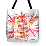 Modern Drawing Seventy-four Tote Bag