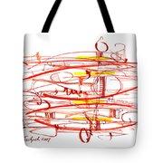 Modern Drawing Seventy Tote Bag