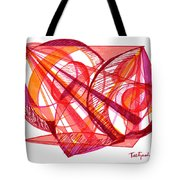 Modern Drawing Seventy-one Tote Bag
