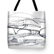 Modern Drawing Seventy-six Tote Bag