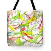 Modern Drawing Seventy-three Tote Bag