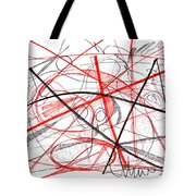 Modern Drawing Seventy-two Tote Bag