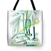 Modern Drawing Sixty-four Tote Bag