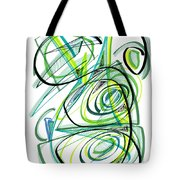 Modern Drawing Sixty Tote Bag