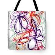 Modern Drawing Sixty-six Tote Bag
