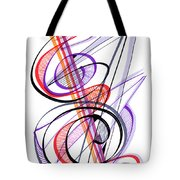 Modern Drawing Sixty-two Tote Bag