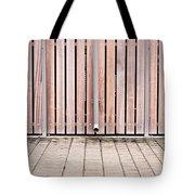 Modern Fence Tote Bag