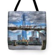 Modern London Tote Bag