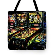 Modern Machines Tote Bag by Benjamin Yeager
