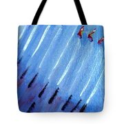 Modern Menorah Tote Bag