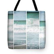 Modern Ocean Quad  Tote Bag