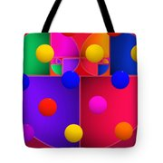 Modern Rain Tote Bag