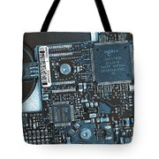 Modern Technology Tote Bag by Jutta Maria Pusl