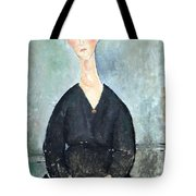 Modigliani's Cafe Singer Tote Bag