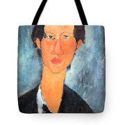 Modigliani's Chaim Soutine Up Close Tote Bag