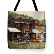 Mogollon-theatre-new Mexico  Tote Bag
