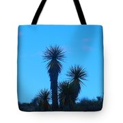 Mohave Blue Tote Bag