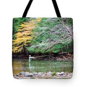 Mohican Fly Fishermen Tote Bag