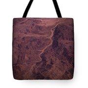 Mojave Desert Aerial Tote Bag