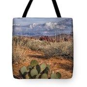 Mojave Desert Cactus Tote Bag