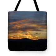 Mojave Desert Sunrise Tote Bag