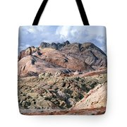 Mojave Desert View - Valley Of Fire Tote Bag