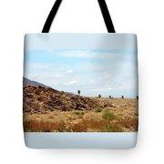 Mojave Desert Landscape Tote Bag