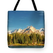 Molas Lake And The Needles Pan 1 Tote Bag