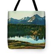 Molas Lake Sunrise Tote Bag
