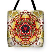 Molecular Rose Tote Bag