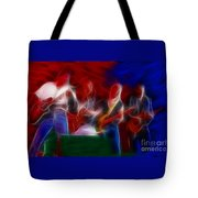 Molly Hatchet-gb23a-fractal Tote Bag