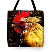 Cock Fighter Tote Bag
