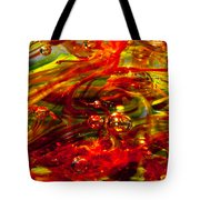 Molten Bubbles Tote Bag