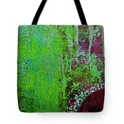 Molten Earth Lime Tote Bag