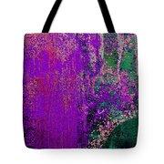Molten Earth Purple Tote Bag