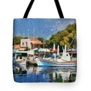 Molyvos Port Tote Bag