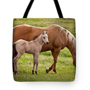 Mom And Foal 2 Tote Bag