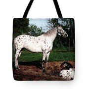 Mom Watches Over Tote Bag