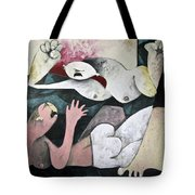 Momentis  The Fight Tote Bag