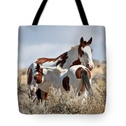 Momma And Baby In The Wild Tote Bag